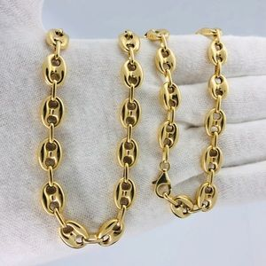 "10KT Gold Real 8MM 24"" GucciPuff Chain"